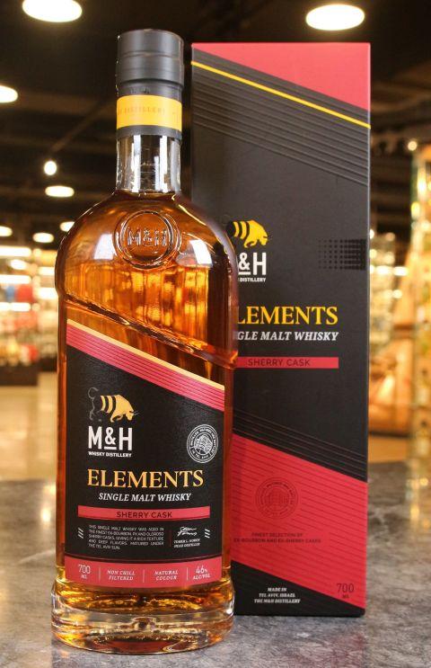 (現貨) M&H Elements Sherry Cask Single Malt Whisky 奶與蜜 元素系列 雪莉桶 (700ml 46%)