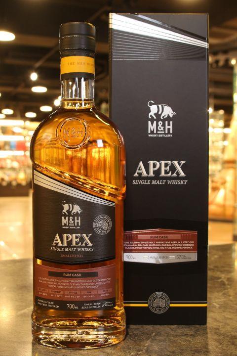(現貨) M&H Apex Series Rum Cask 2017~2021 奶與蜜 尖端系列 蘭姆桶 (700ml 57.3%)