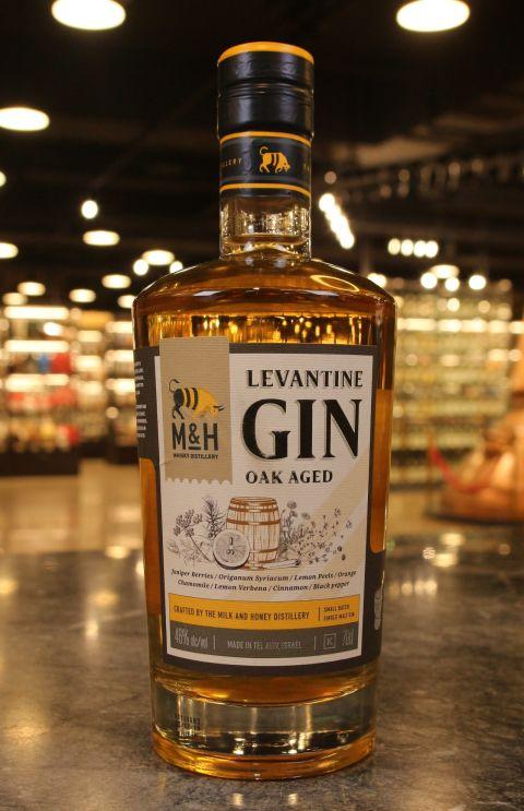 M&H Oak Aged Levantine Gin 奶與蜜 桶陳黎凡特地中海琴酒 (700ml 46%)