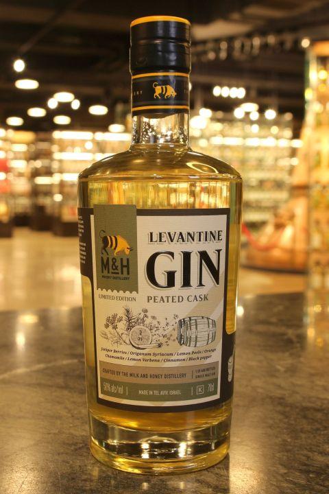 (現貨) M&H Peated Cask Levantine Gin 奶與蜜 艾雷島泥煤桶陳黎凡特地中海琴酒 (700ml 46%)
