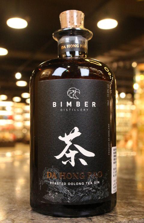 (現貨) Bimber Da Hong Pao Roasted Oolong Tea Gin 賓堡 大紅袍 烏龍茶琴酒 (500ml 51.8%)
