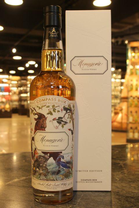 (現貨) Compass Box Menagerie Blended Whisky 威海指南針 動物園 (700ml 46%)