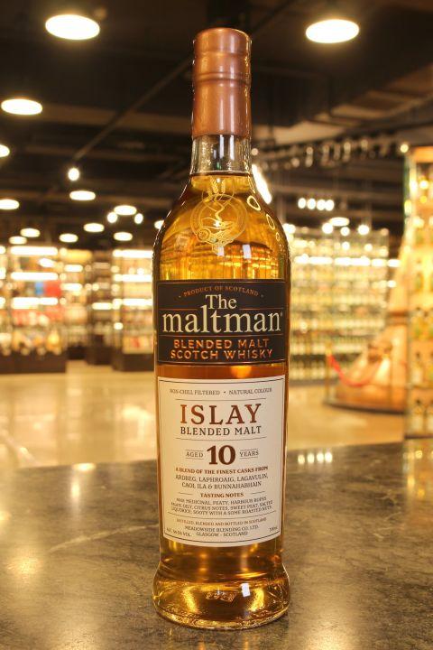 (現貨) Meadowside Blending The Maltman Islay 10 Years 艾雷島調和麥芽威士忌 (700ml 54.5%)