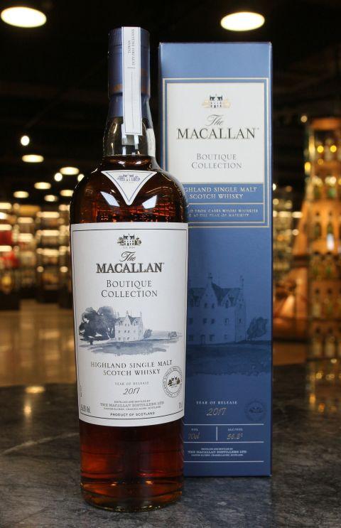 (現貨) Macallan Boutique Collection 2017 Release Taiwan Exclusive 麥卡倫 2017 旗艦店限量款 (700ml 56.8%)