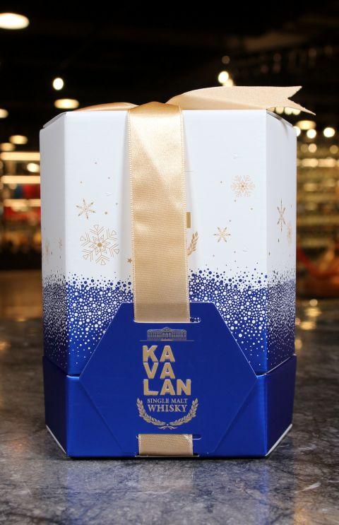 (現貨) KAVALAN Miniature Gift Pack 噶瑪蘭威士忌 試管酒五入禮盒 湛藍版 (50m*5, 50~54%)