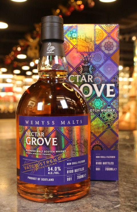 (現貨) Wemyss Malts Nectar Grove Batch Strength 001 威姆斯 繽紛果蜜 馬德拉風味桶 (700ml 54%)