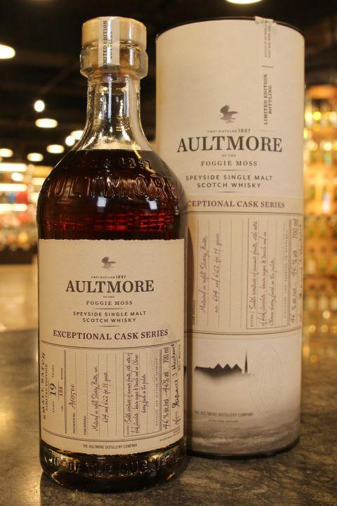 (現貨) Aultmore 19 Years Exceptional Cask Series 雅墨 19年 小批次限量版 (700ml 46%)