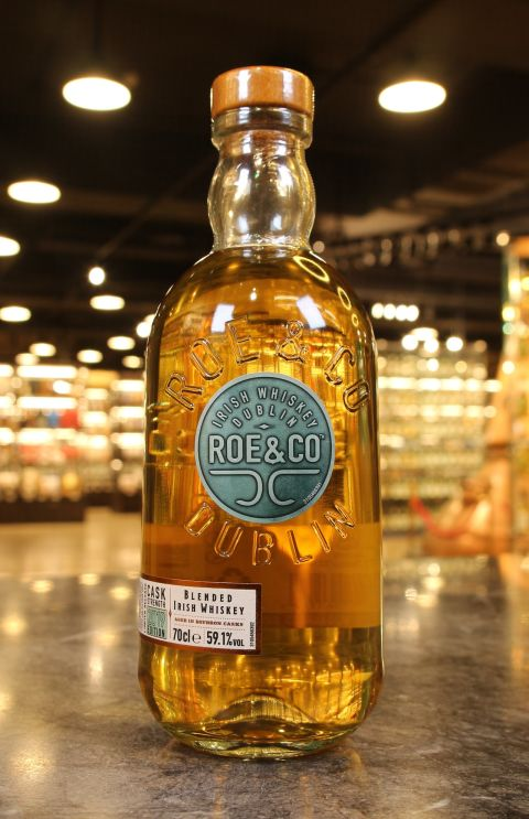 (現貨) Roe & Co Cask Strength 2019 Edition  愛爾蘭調和威士忌原酒  2019版 (700ml 59.1%)