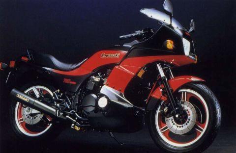 1980年代 渦輪增壓的王者~Kawasaki Z750 Turbo
