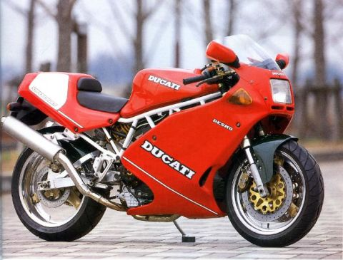 經典的老杜 1993 Ducati 900 SL~