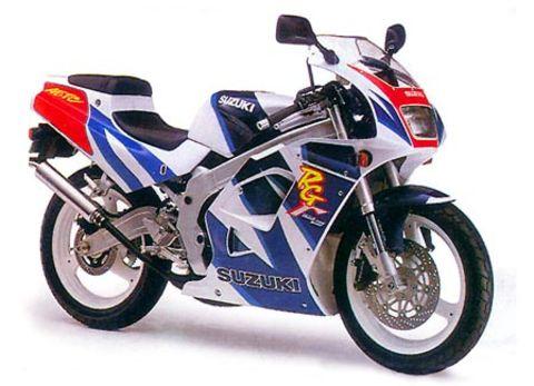 SUZUKI RG125 gamma