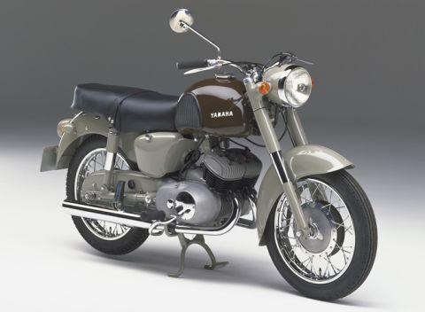 1957 YAMAHA YD-1 雙缸2T的先驅