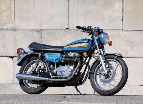 1980 YAMAHA TX650