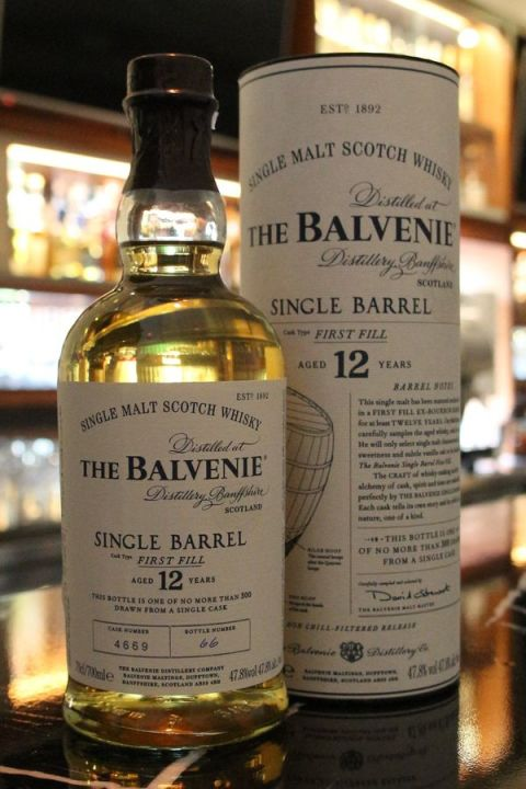 Balvenie 12yr Single Bourbon Barrel 百富 12年 波本單桶 (47.8% 30ml)