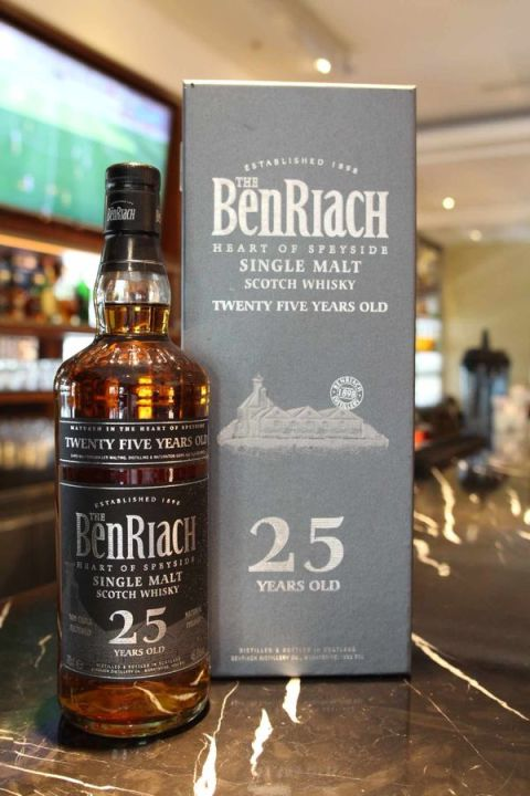 BenRiach 25yr 班瑞克 25年 原酒 (46.8% 30ml)