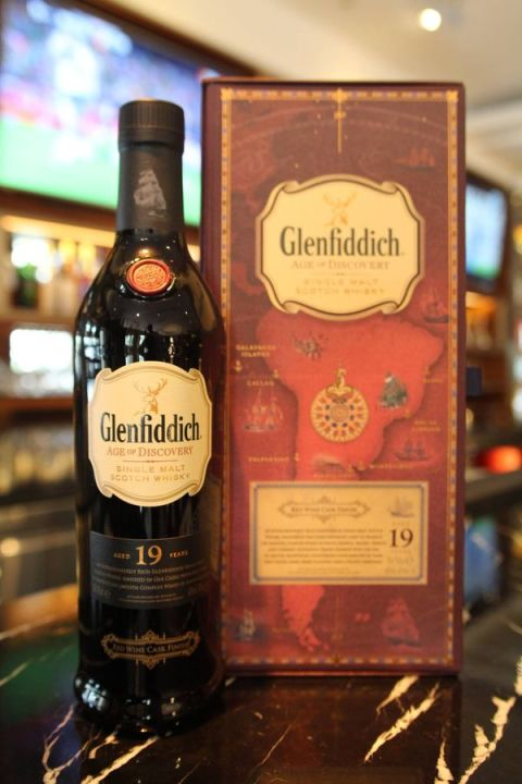 Glenfiddich 19yr Age of Discovery Red Wine Cask Finish 格蘭菲迪 探險家19年 紅酒桶 (40% 30ml)