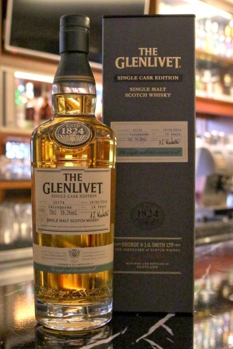 Glenlivet Cairngorms 14yr Single Cask 格蘭利威 14年 單桶原酒 (59.3% 30ml)