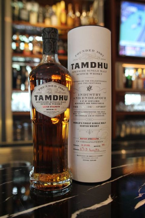 Tamdhu Batch Strength Sherry Casks Special Edition Batch No.1 坦杜 雪莉桶原酒 限量第1批次(58.8% 30ml)