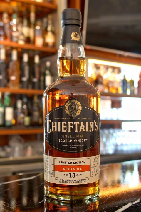 Chieftain's 18yr Limited Edition 老酋長 18年 限定版 (43% 30ml)