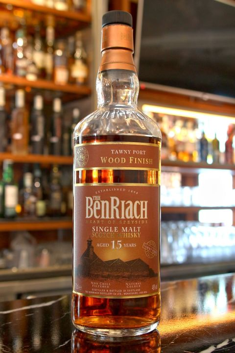 BenRiach 15yr Tawny Port Wood Finish  班瑞克 15年 葡萄牙波特桶 (46% 30ml)