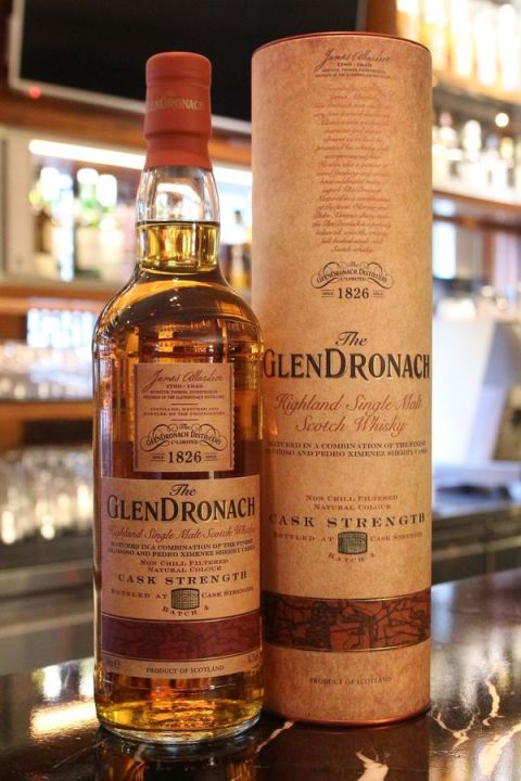 GlenDronach Cask Strength Batch: 4 格蘭多納 第4版原酒 (54.7% 30ml)