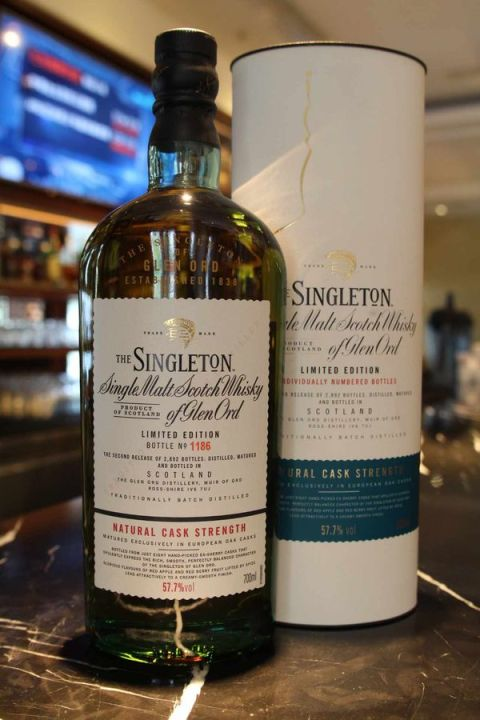 Singleton of Glen Ord Cask Strength Limited Edition 蘇格登 雪莉桶原酒 第二版 (57.7% 30ml)