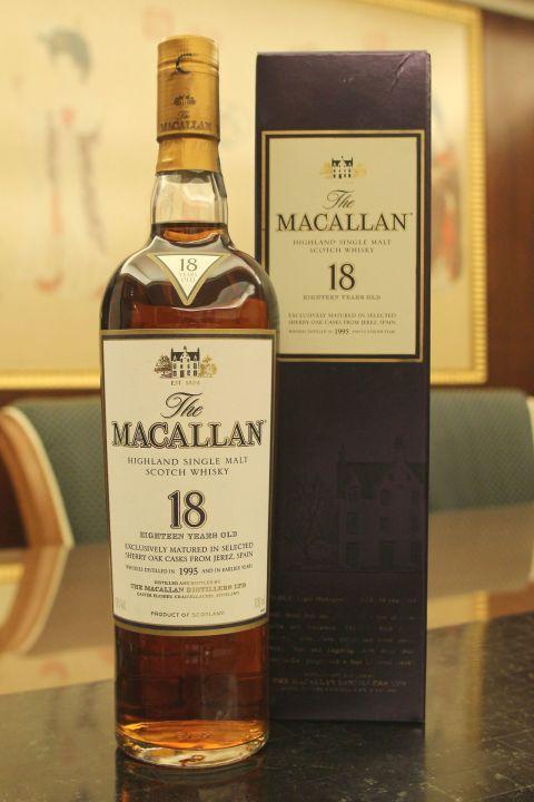 Macallan 18yr Sherry Oak 1995 麥卡倫 18年 經典雪莉桶 (43% 30ml)