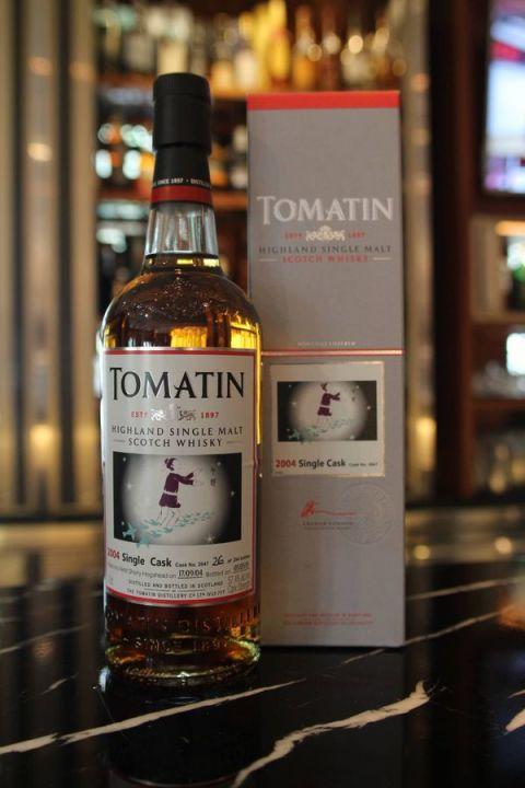 Tomatin 2004 single cask 湯馬丁2004單桶原酒 限量版-牛郎 (57.4% 30ml)