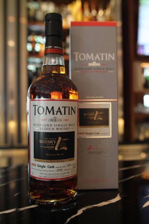 Tomatin 2005 single cask 湯馬丁2005單桶原酒 雪莉桶 whisky L Taipei (58.8% 30ml)