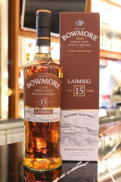 Bowmore 15yr Laimrig 波摩 15年 碼頭 限量版 (54.1% 30ml)