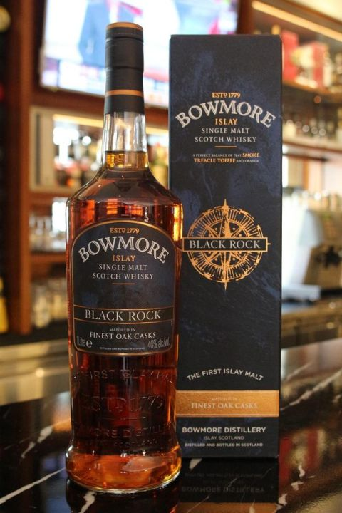 Bowmore Black Rock Sherry & Bourbon Casks 波摩 黑石 雙桶 (40% 30ml)