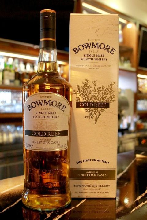 Bowmore Gold Reef  波摩 金礁 (43% 30ml)