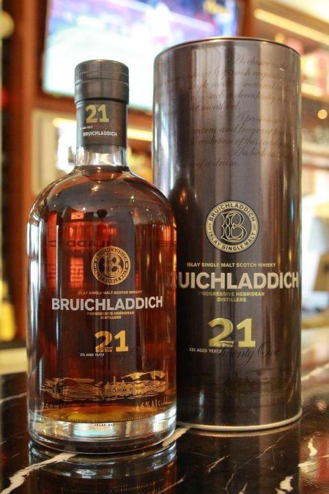 Bruichladdich 21yr Oloroso Sherry Cask 布萊迪 21年 雪莉桶 (46% 30ml)