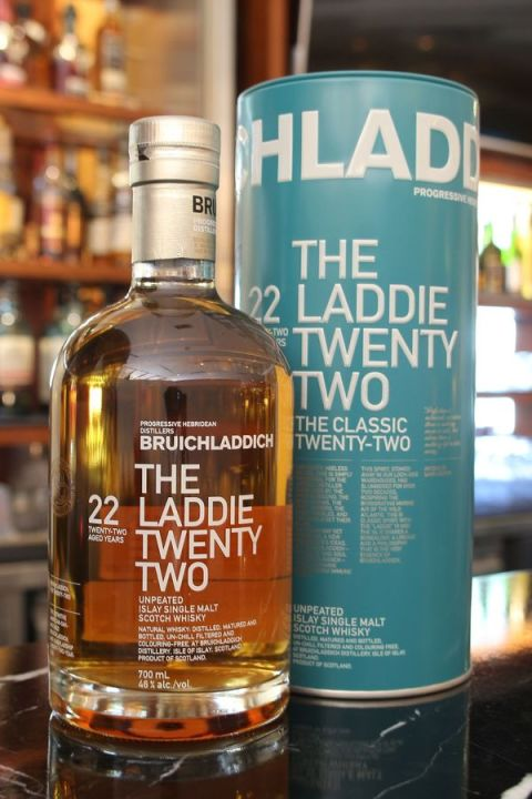 Bruichladdich 22yr The Laddie Unpeated 布萊迪 22年 無泥煤 (46% 30ml)