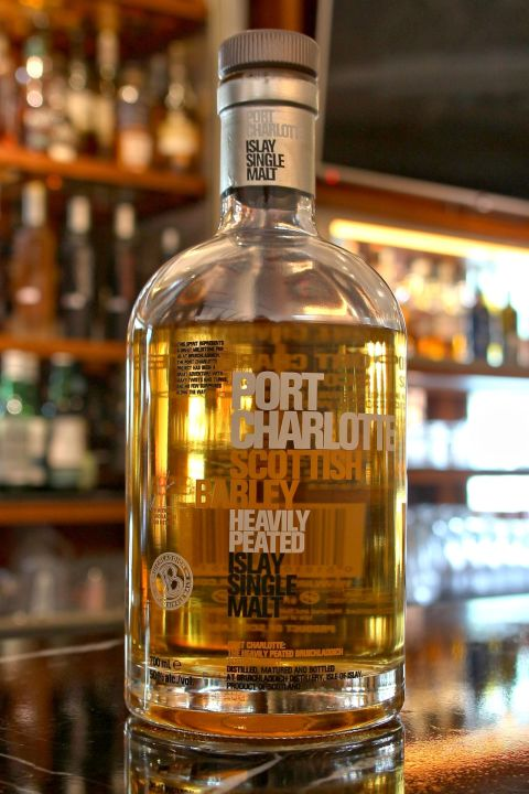 Bruichladdich Port Charlotte Scottish Barley 布萊迪 波夏蘇格蘭大麥 (50% 30ml)
