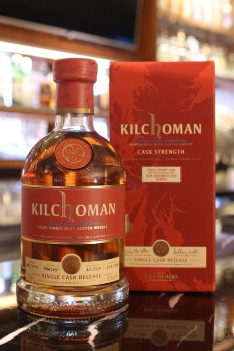 Kilchoman 5yr Sherry Single Cask Strength 齊侯門 5年 雪莉桶原酒 (60% 30ml)