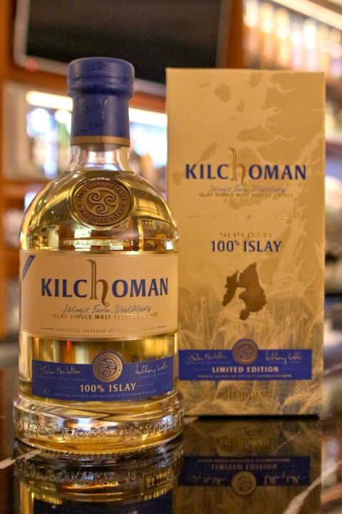 Kilchoman 100% Islay The 4th Edition 齊侯門 100%艾雷大麥 第四版 (50% 30ml)