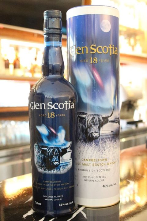 Glen Scotia 18yr Bourbon Casks 格蘭帝 斯高夏 18年 波本桶 (46% 30ml)