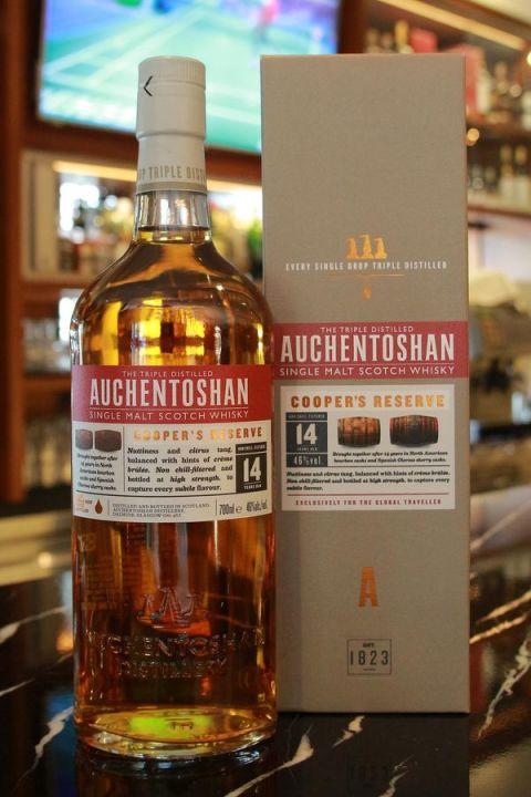 Auchentoshan 14yr Cooper's Reserve 歐肯特軒 14年 雙桶 (46% 30ml)