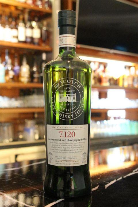 SMWS 7.120 Longmorn 11yr EX Bourbon Cask 朗摩 11年 波本桶原酒 (60.7% 30ml)