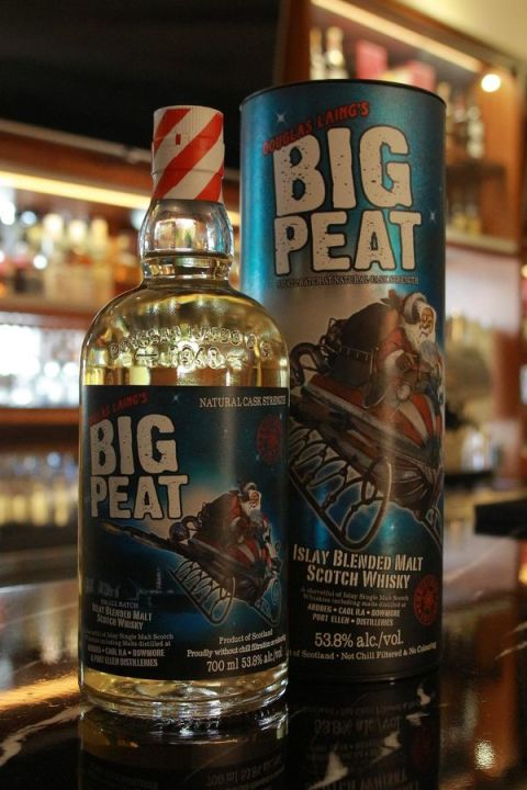 Douglas Laing's Big Peat 2015 X'mas Edition 泥煤哥 2015耶誕限定 調合原酒 (53.8% 30ml)