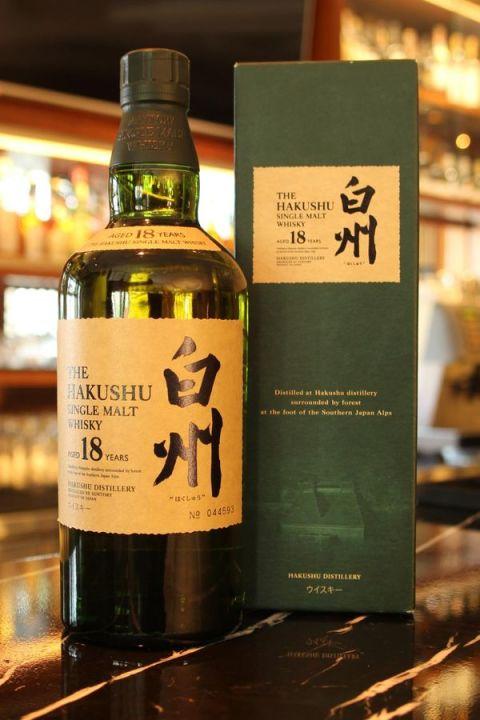 Hakushu 18yr 白州 18年 單一純麥威士忌 (43% 30ml)