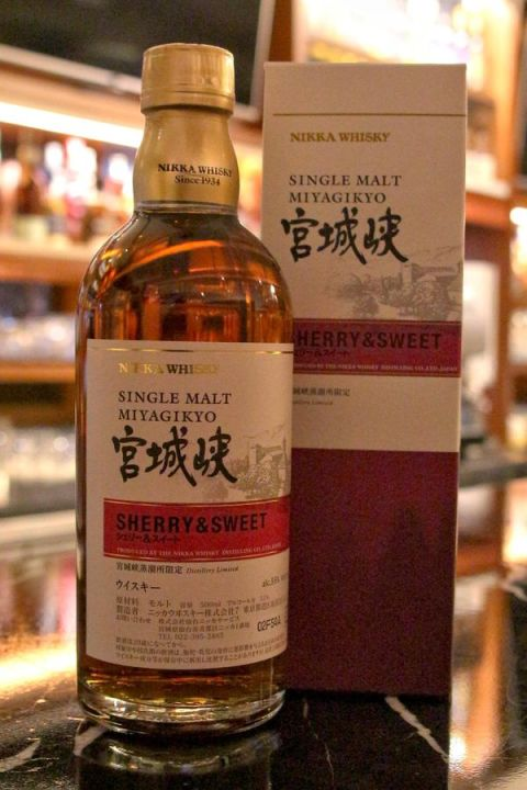 Nikka Miyagikyo Sherry & Sweet Distillery Limited 宮城峽 原酒 酒廠限定版 (55% 30ml)