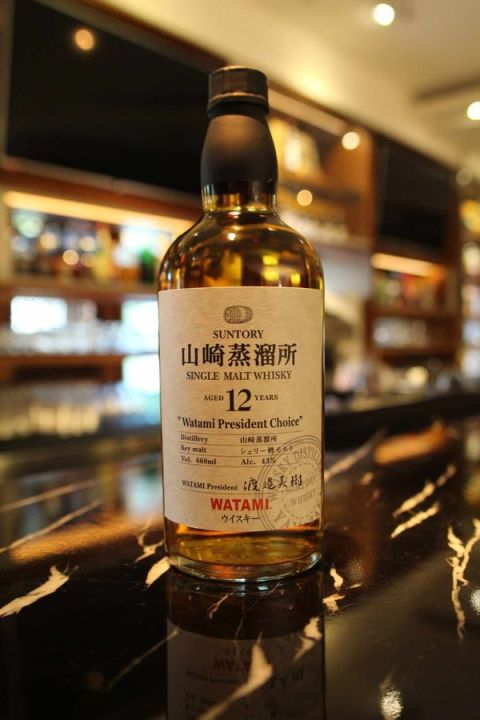 Yamazaki 12yr Watami President Choice 山崎蒸餾所12年 渡邊美樹 (43% 30ml)