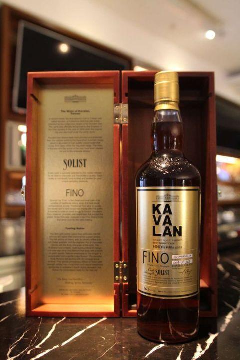 Kavalan Solist Fino Sherry Cask 噶瑪蘭 經典獨奏 FINO雪莉桶 原酒 (57.8% 30ml)