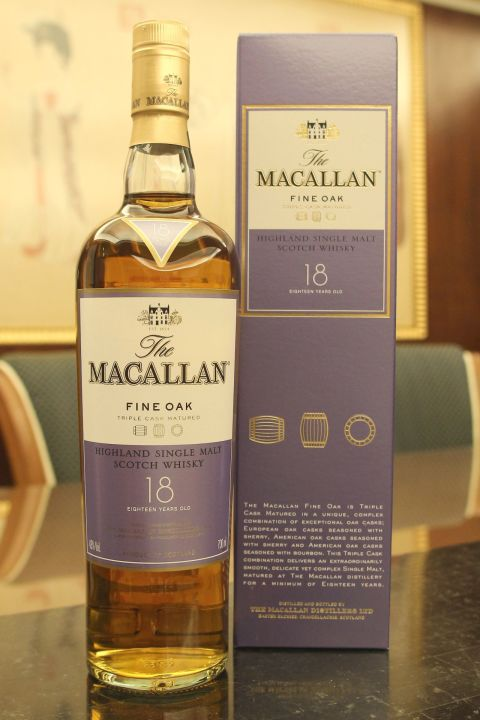 Macallan 18yr Fine Oak Triple Cask  麥卡倫 18年 黃金三桶 (43% 30ml)