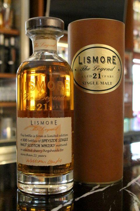 Lismore 21yr The Legend  麗絲摩 21年 傳奇限量版 (43% 30ml)