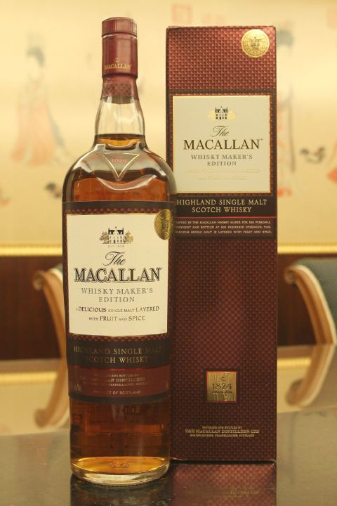 Macallan 1824 Maker's Edition Lingering Finish 麥卡倫 酒廠精選 紅標 (42.8% 30ml)