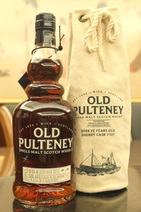 Old Pulteney 2004 12yr 富特尼 2004 12年 LMDW 60週年紀念版 (61.3% 30ml)