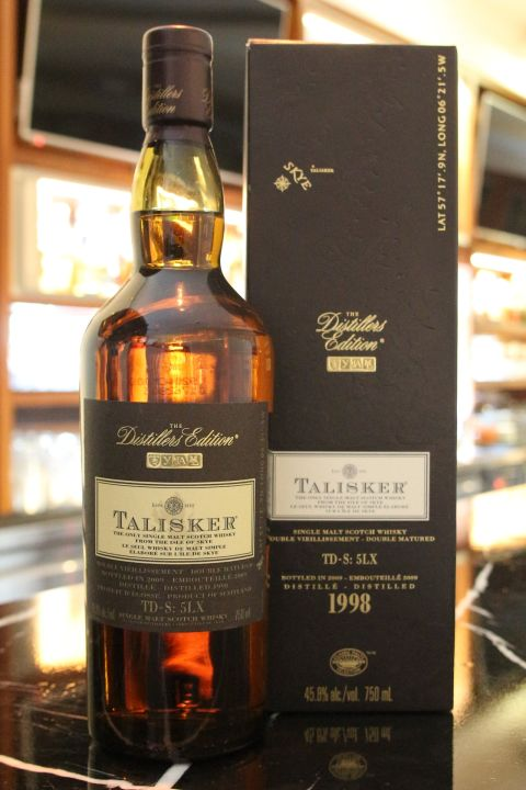 Talisker 1998~2009 Amoroso Sherry Finish 大力斯可 10年 雪莉桶 (45.8% 30ml)